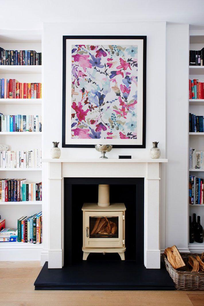 How to Frame Wallpaper as Artwork | Pinterest | Framed wallpaper ...
