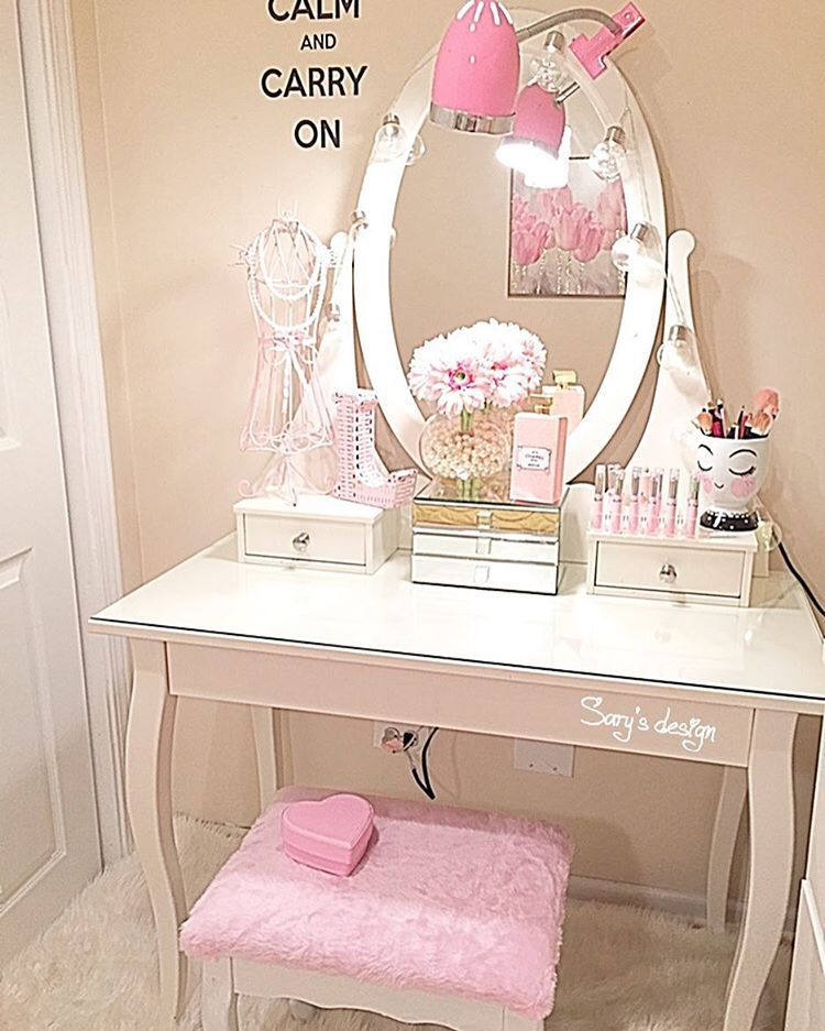 Teenagers Dressing Table Kids Dressing Table Unicorn Room Decor Little Girls Dressing Table