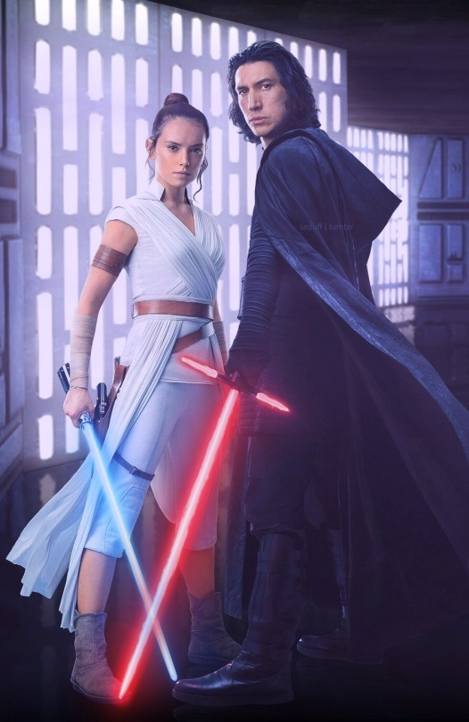 Reylo The Rise Of Skywalker Animation Star Wars Poster Star Wars Art Star Wars Background