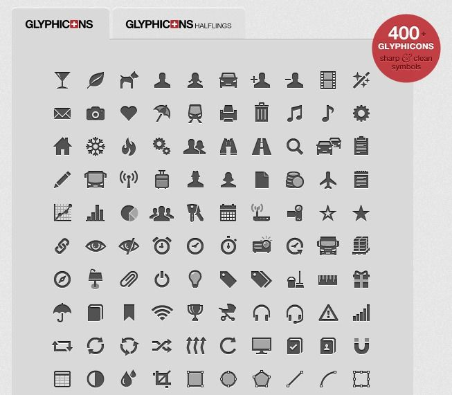 Glyphicons 400 Glyphs Icons Free Only For Small Png Version Glyphs Understanding Icon
