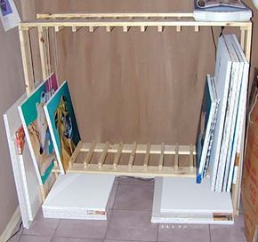 build your own drying and storage rack