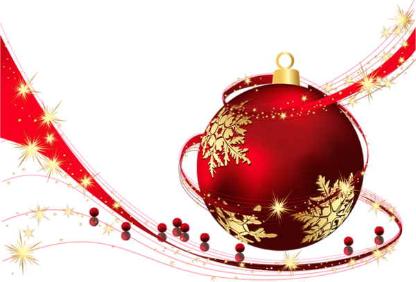Free Png Clipart Red Christmas Ornaments Christmas Balls Xmas Pictures
