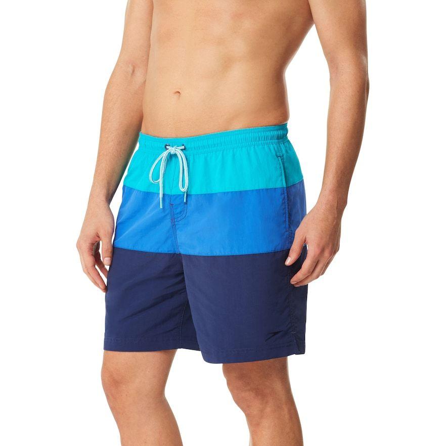 5787d775d0 Speedo Men's Colorblock Volley Swim Shorts in 2019 | Products | Swim ...