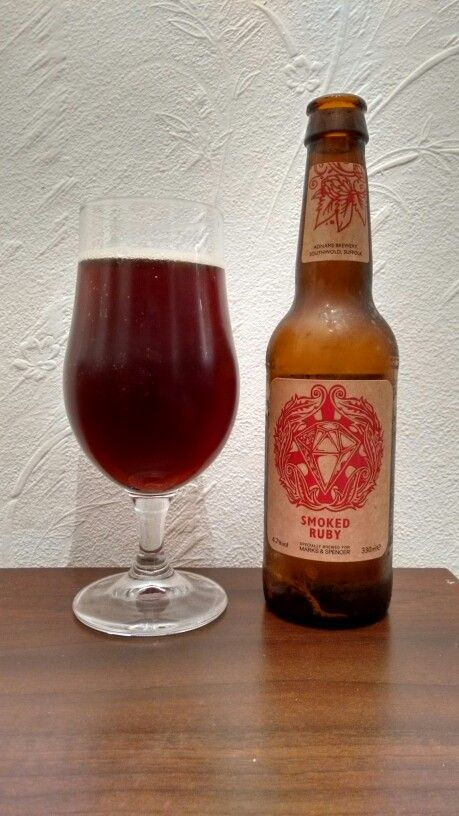 Smoked Ruby from Adnams Brewery gor Marks and Spencers