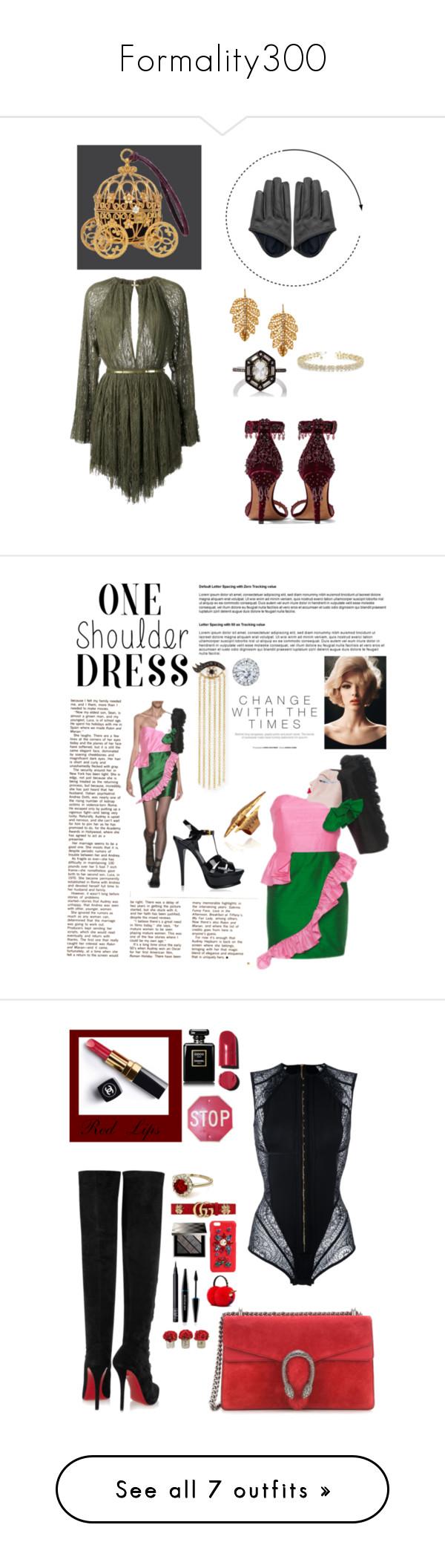 """Formality300"" by liajkou ❤ liked on Polyvore featuring Jay Ahr, Givenchy, Marika, Cathy Waterman, Allurez, VIVETTA, Yves Saint Laurent, Sydney Evan, Kobelli and contest"
