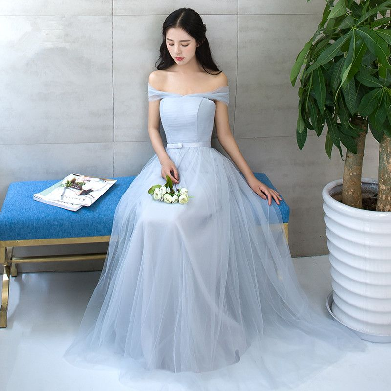 Find More Information about Bridesmaid Dresses Long Light Blue ...