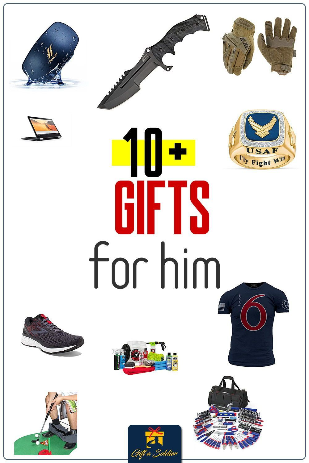 Looking for gifts for that special guy in your life? This