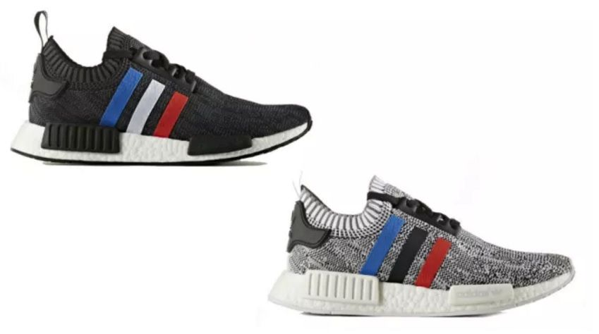 He Adidas Nmd Primeknit Tri Color Pack 8 9 Clothing Co 8 9