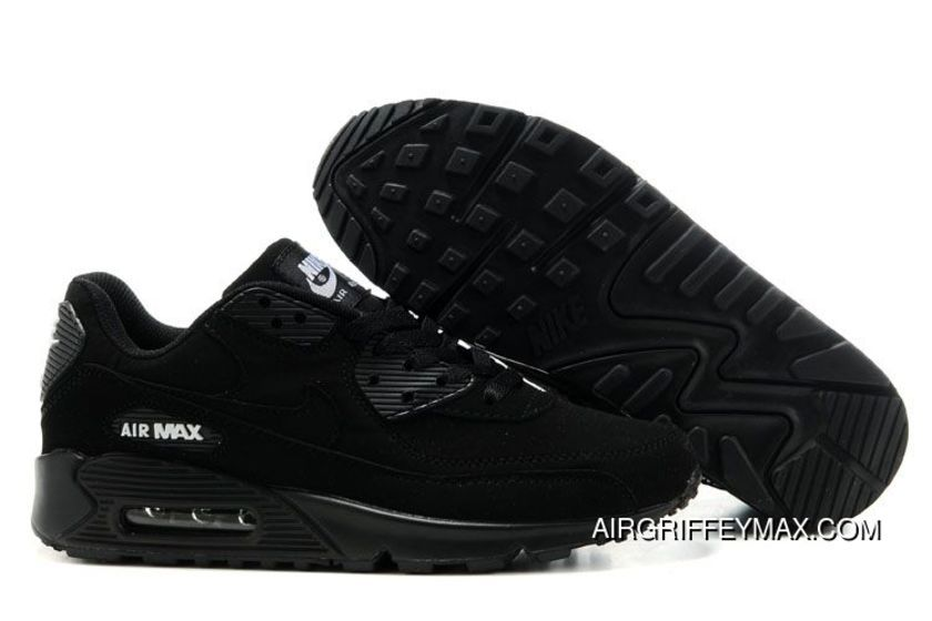 Mens Nike Air Max 90 Shoes All Black,womens Nike Free Run