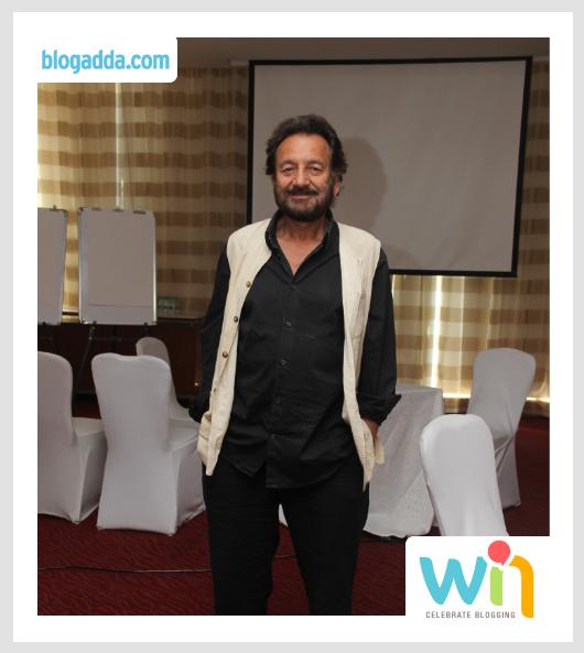 Director Shekhar Kapur at India's first Blog Awards Ceremony: WIN'14