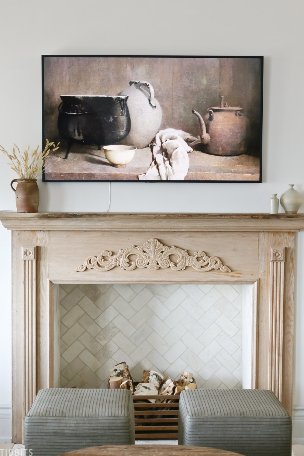 20+ Faux fireplace ideas in 20   LivingRoomReference