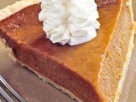 Pie pumpkins are plentiful and inexpensive. We'll  freeze  enough at the start of the season to keep us in pies through the holidays and beyond. —Mick Telkamp
