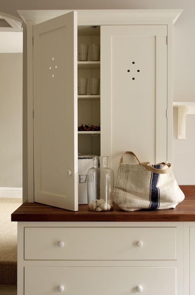 Simple furniture beautifully made devol white painted kitchen cabinets love the diamond detail