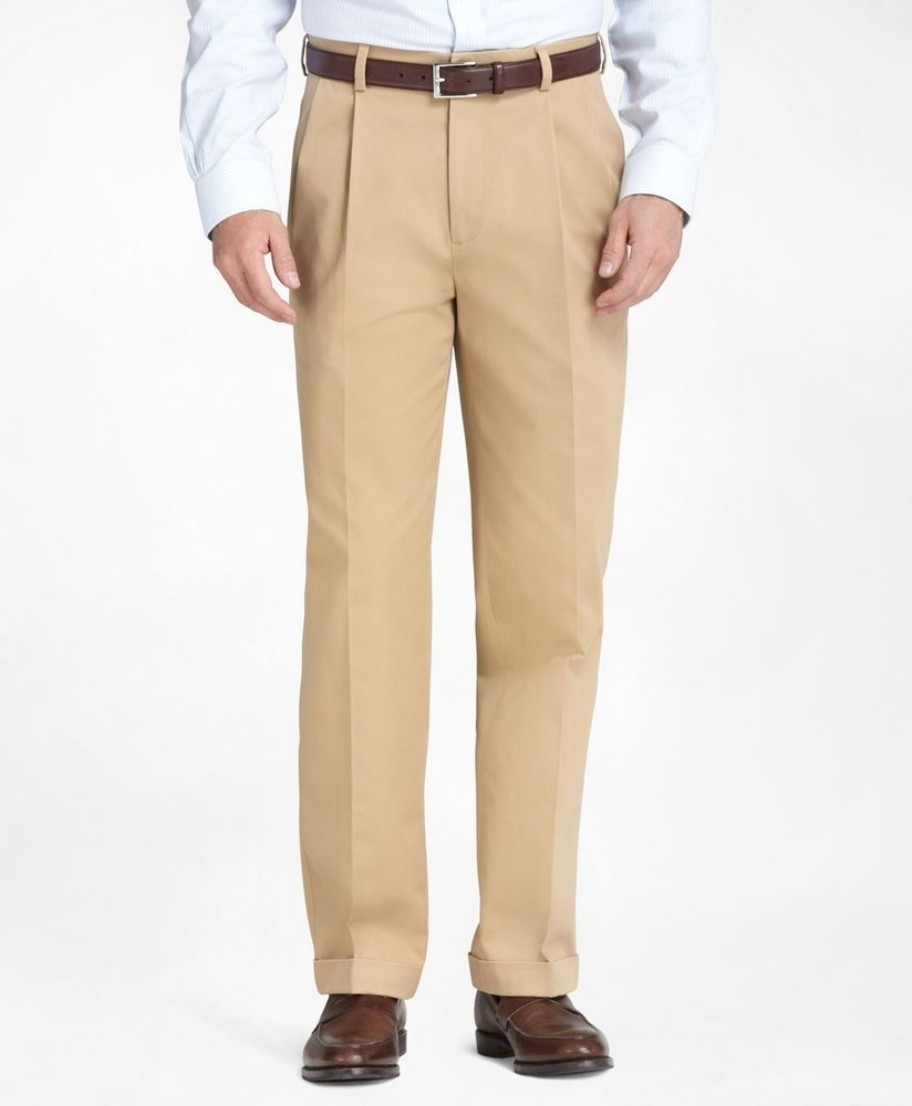 Brooks Brothers Advantage Chino Elliot 34 32 British Tan