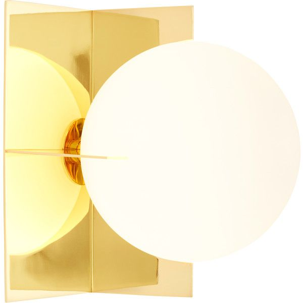 Tom Dixon Plane Wall Light ($540) ❤ liked on Polyvore featuring home, lighting, white lamp, tom dixon, square lamp, tom dixon lamp and tom dixon lighting