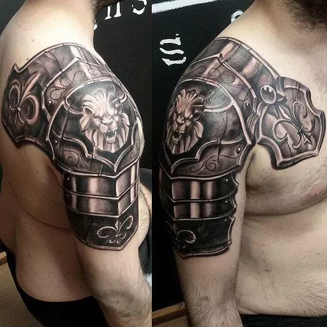 Image Result For Sagittarius Tattoos Tattoos Shoulder Armor