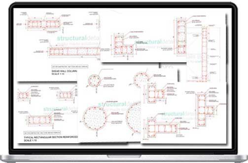 Complete Reinforced Concrete Columns Cross Section Details ...