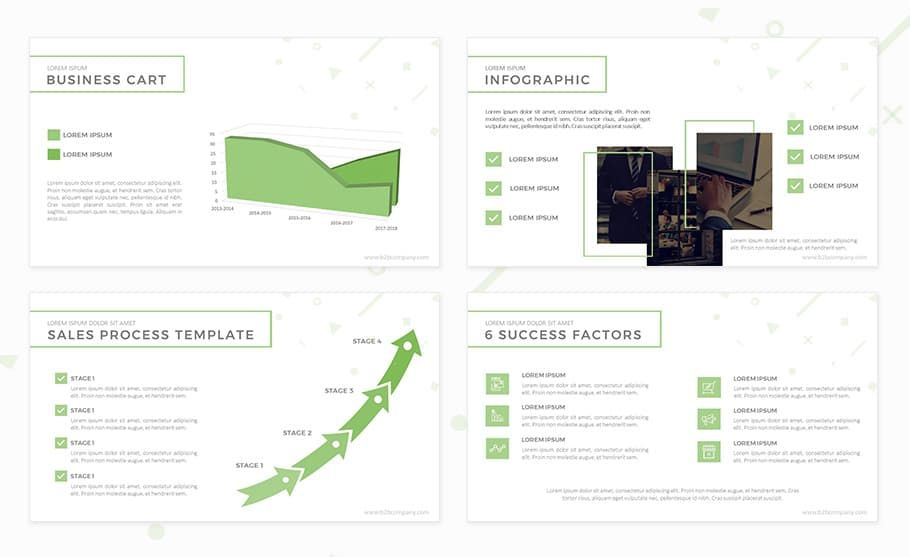 B2b Marketing Plan Template For Powerpoint Presentation Marketing Plan Template Marketing Plan Marketing Presentation