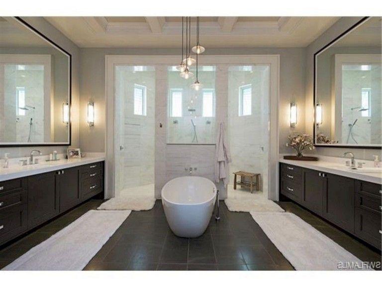 65 Elegant Master Bathroom Design Ideas For Amazing Homes Dream Bathroom Master Baths Master Bathroom Design Bathroom Design