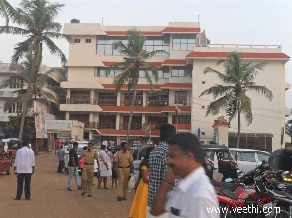 Police on Duty at Kovalam beach