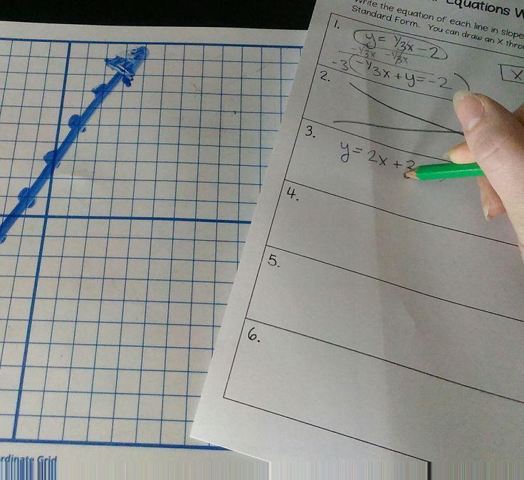 Linear Equations Walk Around Activity | Pinterest | Standard form ...