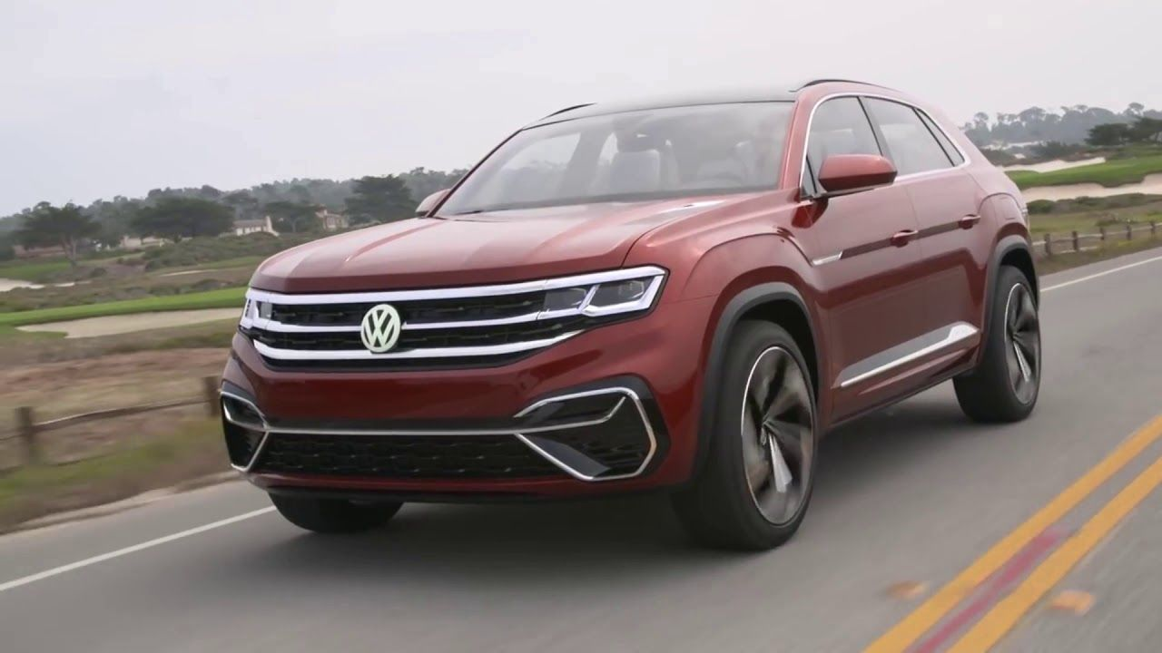 2020 Volkswagen Atlas Cross Sport new hybrid SUV