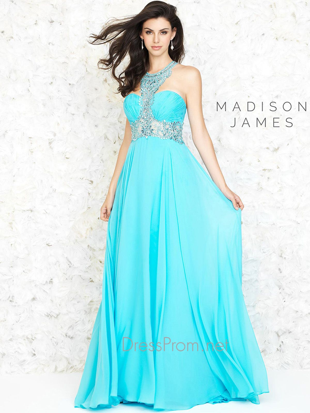 A look straight out of Greek mythology, the Grecian inspired Madison ...