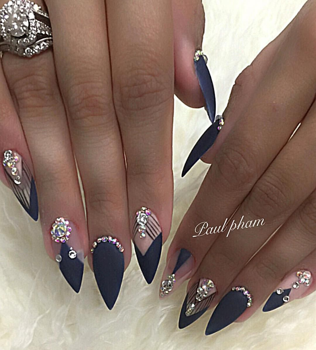 152 Me Gusta 1 Comentarios Best Beauty Nails And Spa Nailsbypaul En Instagram Albuquerque Newmexico 505 Nail Designs Bling Nails Pretty Nails