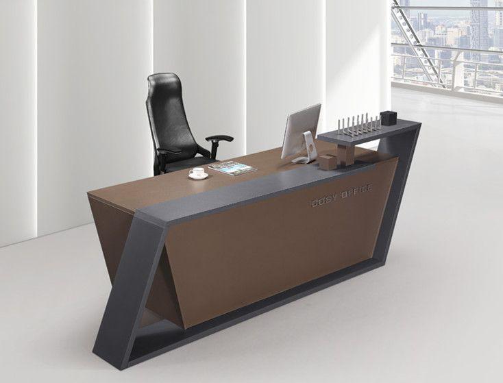Salon Reception Desks And Modern Reception Desks And Curved Reception Desks In Modern Design Modern Reception Desk Office Furniture Design Office Table Design