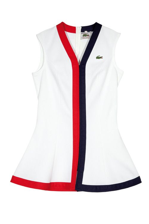 ac77a6665f8 Vintage: 1974 Lacoste Tennis Dress | Golf+Tennis in 2019 | Tennis ...
