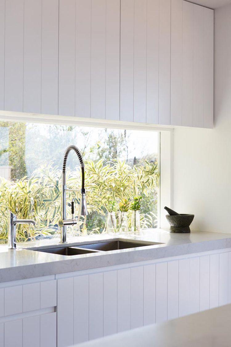 No window kitchen sink  kitchen uframelessu window splashback  windows  pinterest  window
