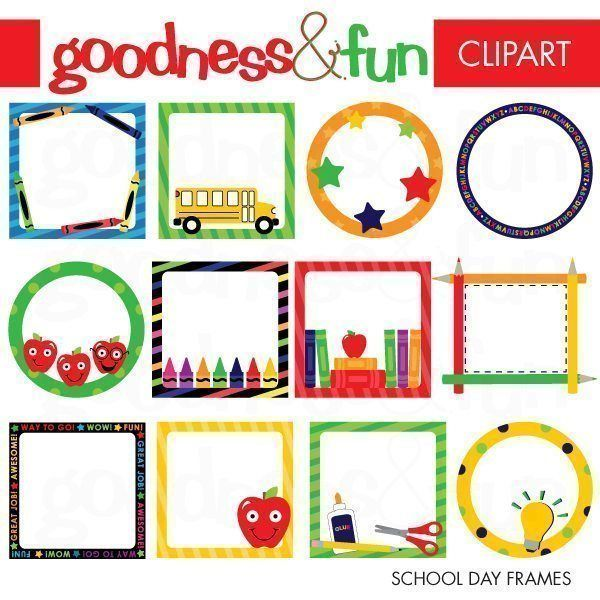 School Day Frames | Pinterest | School, Svg file and Filing