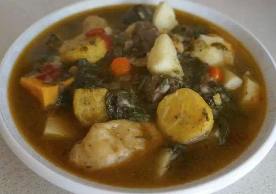 Haiti Wedding Traditions Food: BOUYON KABRIT/GOAT STEW.
