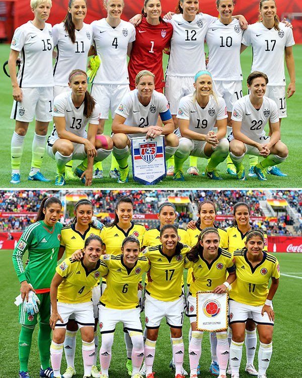Usa Beats Colombia 2 0 One Step Closer To Winning Fifa Women S World Cup Daily Read List Fifa Women S World Cup Usa Soccer Women Soccer World