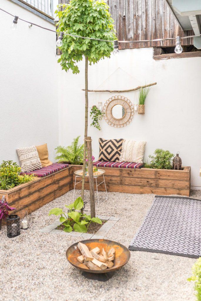 DIY Terrassen makeover - vorher/ nachher (Teil 2 Gardens and Patios