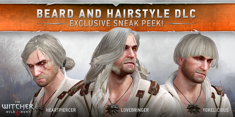 The Witcher 3 Wild Hunt 8211 A Set Of Hairstyles For Geralt The Witcher Beard Hairstyle Wild Hunt