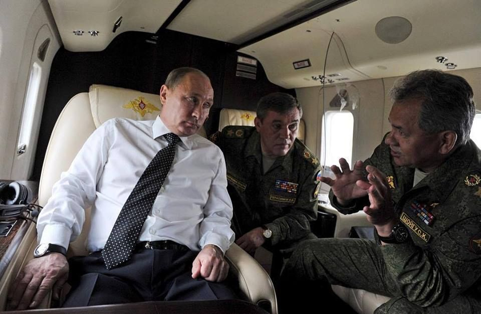 Putin Shoygu Gerasimov