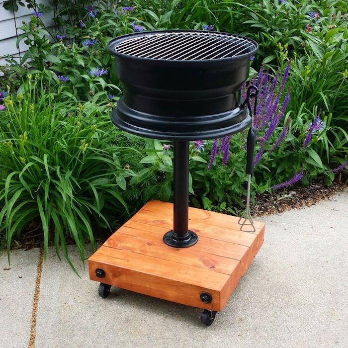 comment faire un barbecue pas cher avec jante de viture
