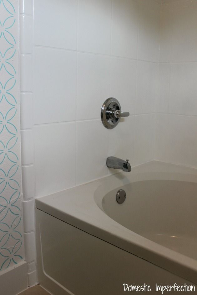 How to Refinish Outdated Tile (yes, I painted my shower) | Tubs ...