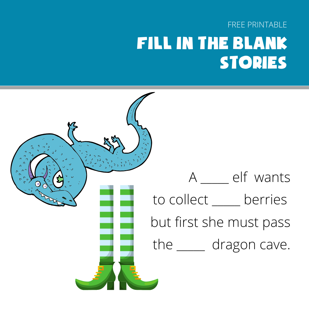 Remote Creative Writing Lesson Fill In The Blank Story In