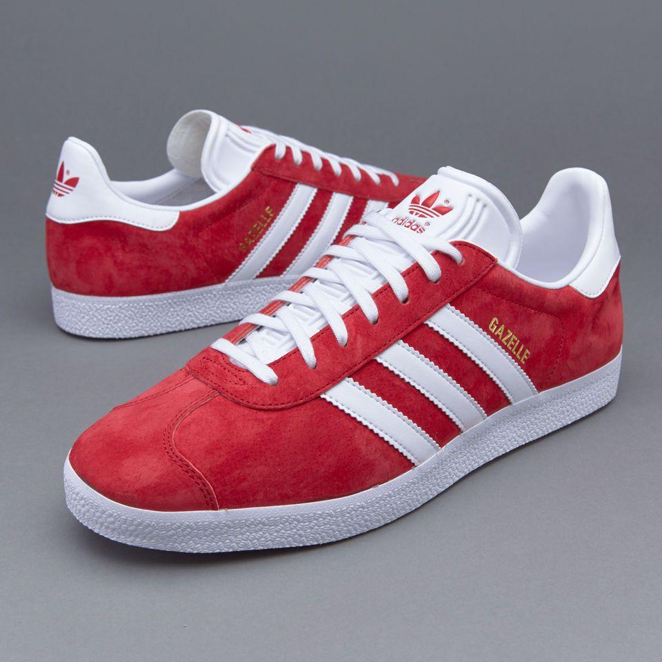 quality design 88bd9 7e017 AUTHENTIC adidas Originals Gazelle Sport Pack Red nmd Gold White S76228 Men  sz