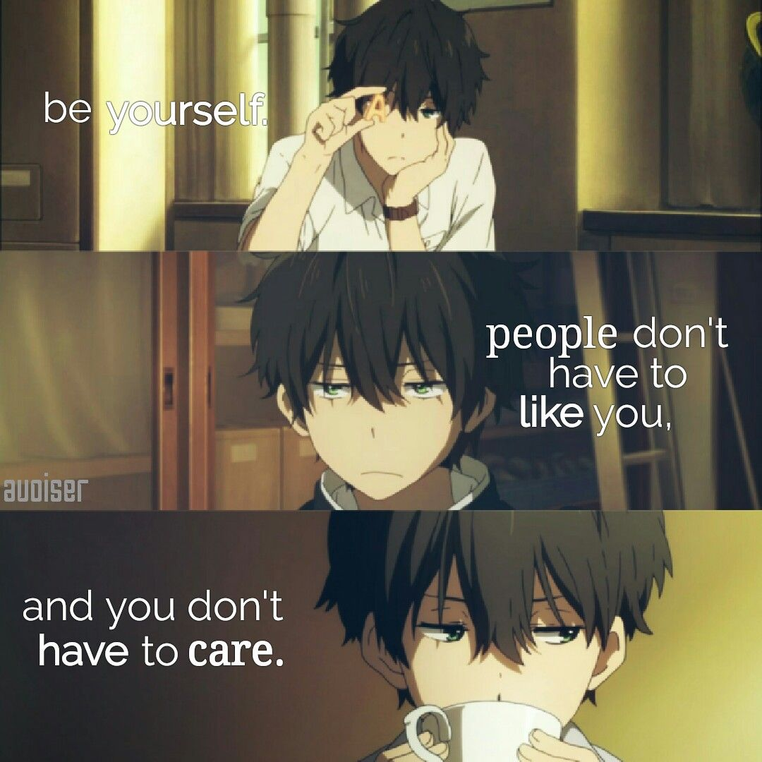 Pin by Avoiser on Anime Quotes Anime love quotes