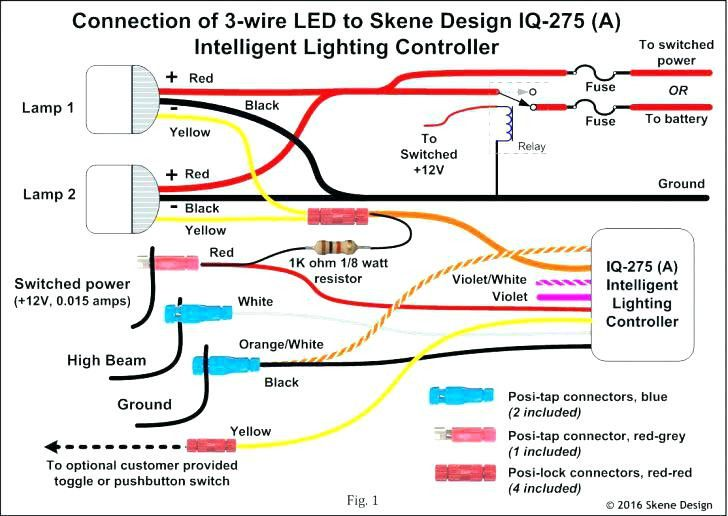 37 3 Wire Led Tail Light Wiring Diagram Es3s di 2020