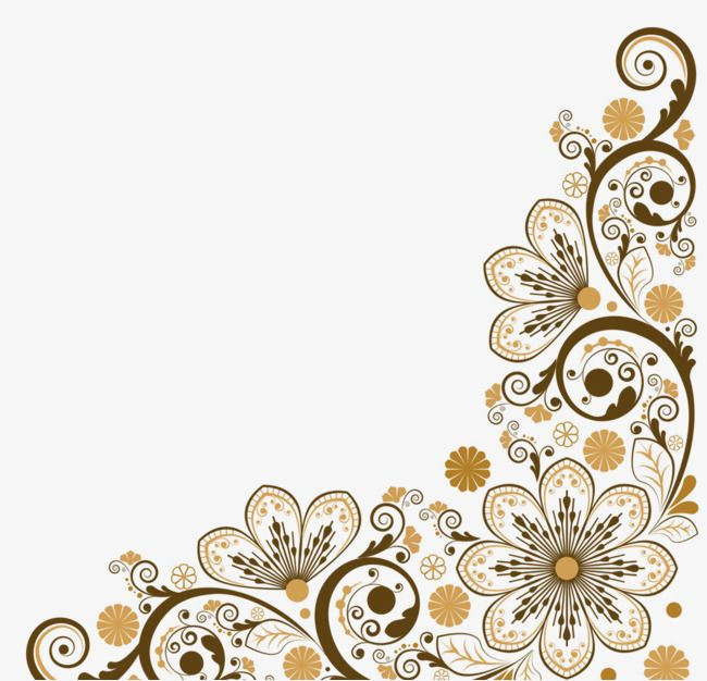 Vector Decoration Borders Vector Diagram Decorative Pattern Decorate The Border Png Transparent Clipart Image And Psd File For Free Download Clip Art Borders Floral Border Design Decorative Borders