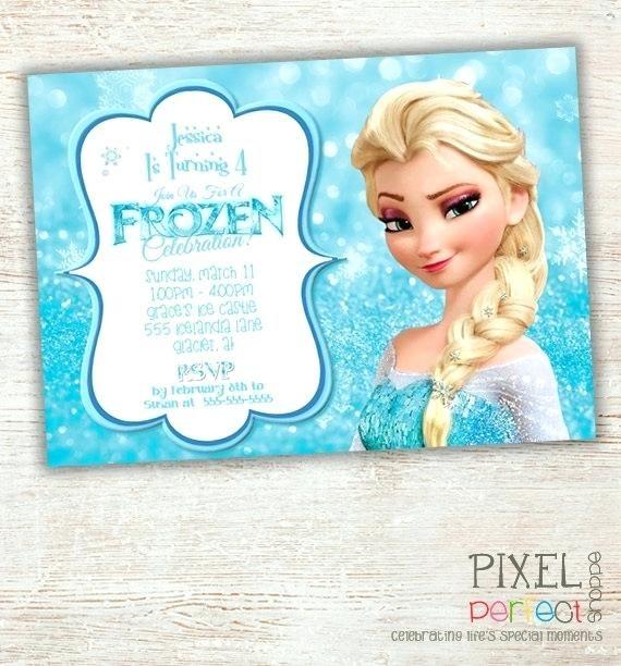 free frozen invitations 9341 also elegant frozen party invitations