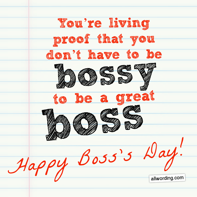 24 Unique Happy Boss's Day Messages Happy boss's day