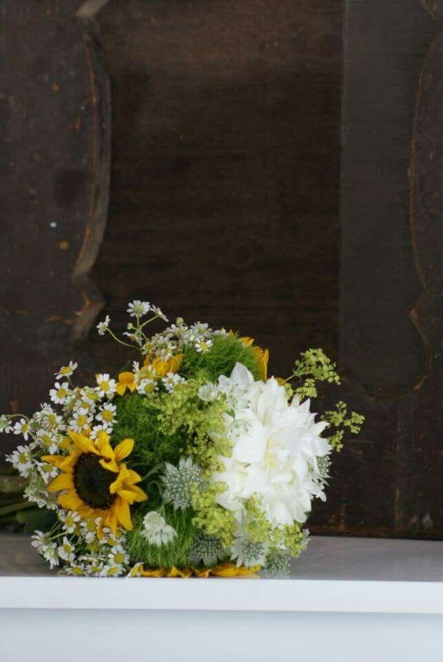 Brautstrauß - Sunflower - selbstdesigned