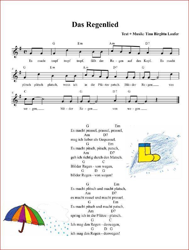 Notitle Monica Meyer Kindergarten Lieder Kinder Lied Kinderlieder