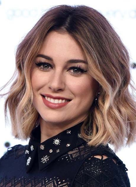 Shoulder Length Hairstyles 2018 2019 Latest Fashion Trends Hottest Hairstyles Ideas Inspiration Haircuts For Wavy Hair Hair Styles Short Wavy Hairstyles For Women