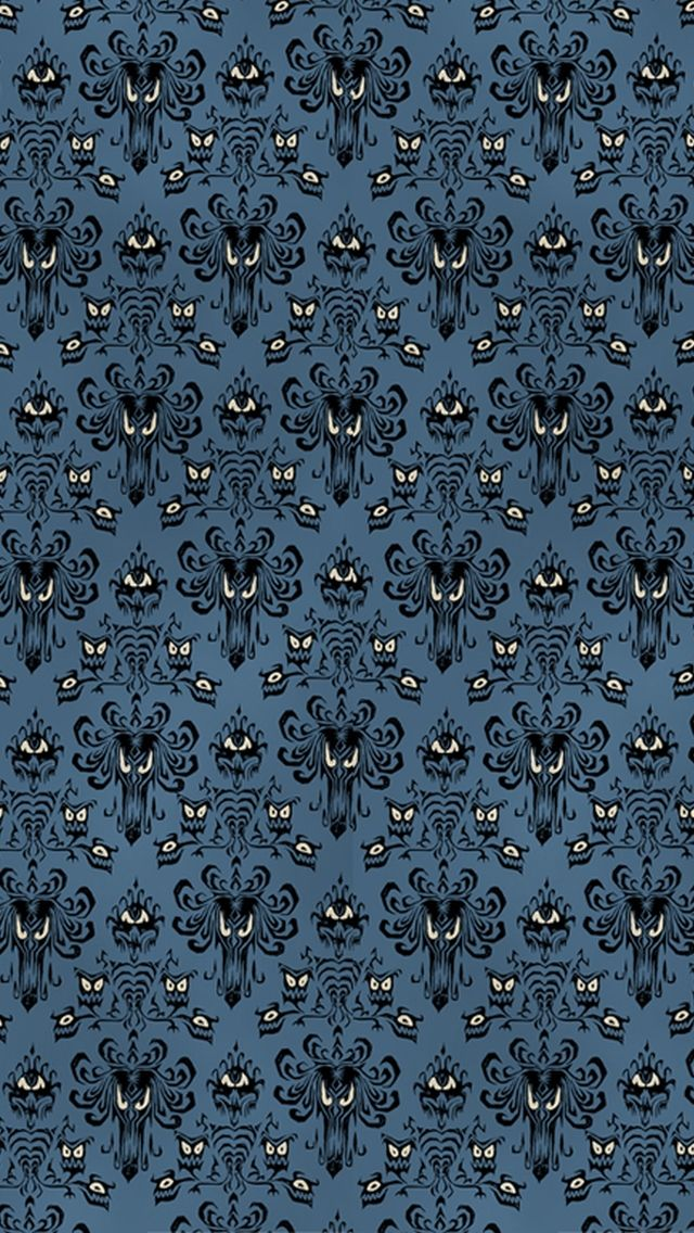 The 1 Iphone5 Patterns Wallpaper I Just Shared Iphone Background Disney Halloween Wallpaper Haunted Mansion Wallpaper
